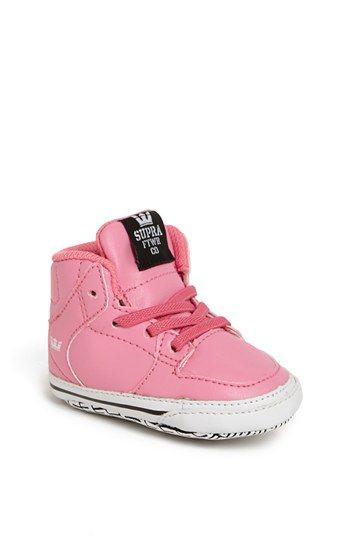Supra 'Vaider' Crib Shoe (Baby