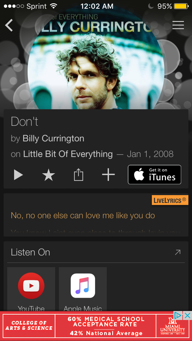 """Don't"" Billy Currington Billy currington, Love me"