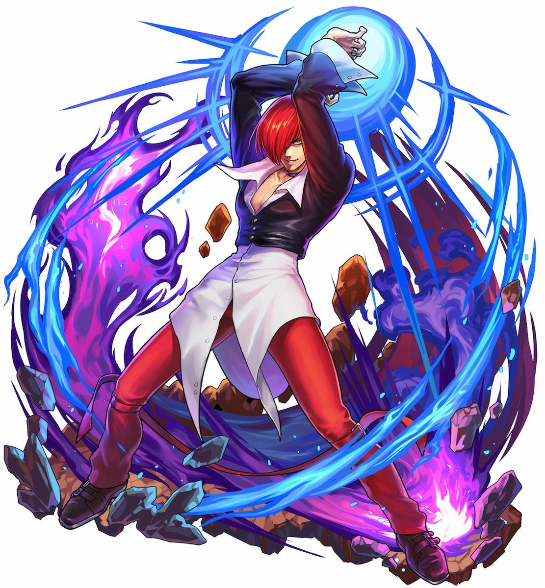 Https Vignette Wikia Nocookie Net Snk Images F F5 Boku To Dragon Iori Jpg Revision Latest Cb 20 In 2020 King Of Fighters Street Fighter Art Street Fighter Characters