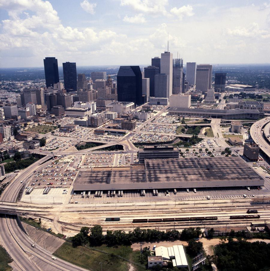 Houston texas late 1970s main post office lower