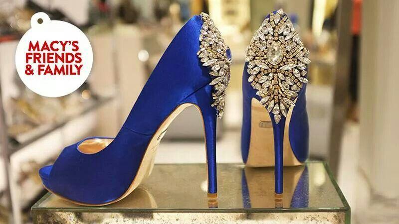 Badgley Mischka Kiara Platform, Macy's $245. I NEED these in my life...