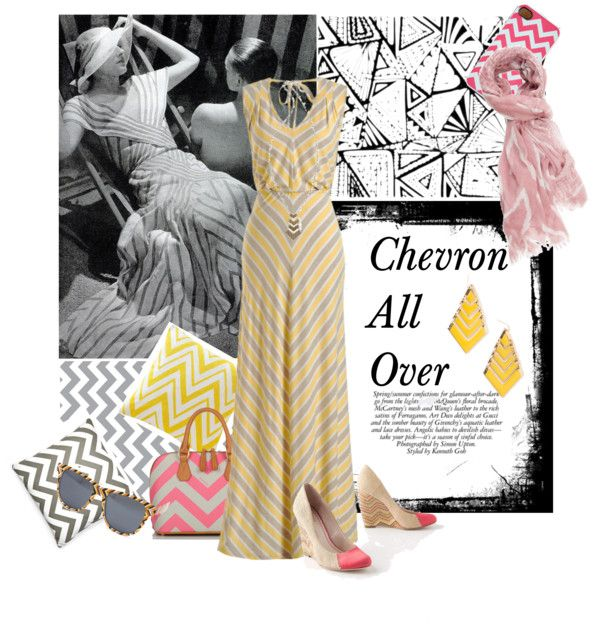 """""""Chevron All Over"""" by susiqu on Polyvore"""