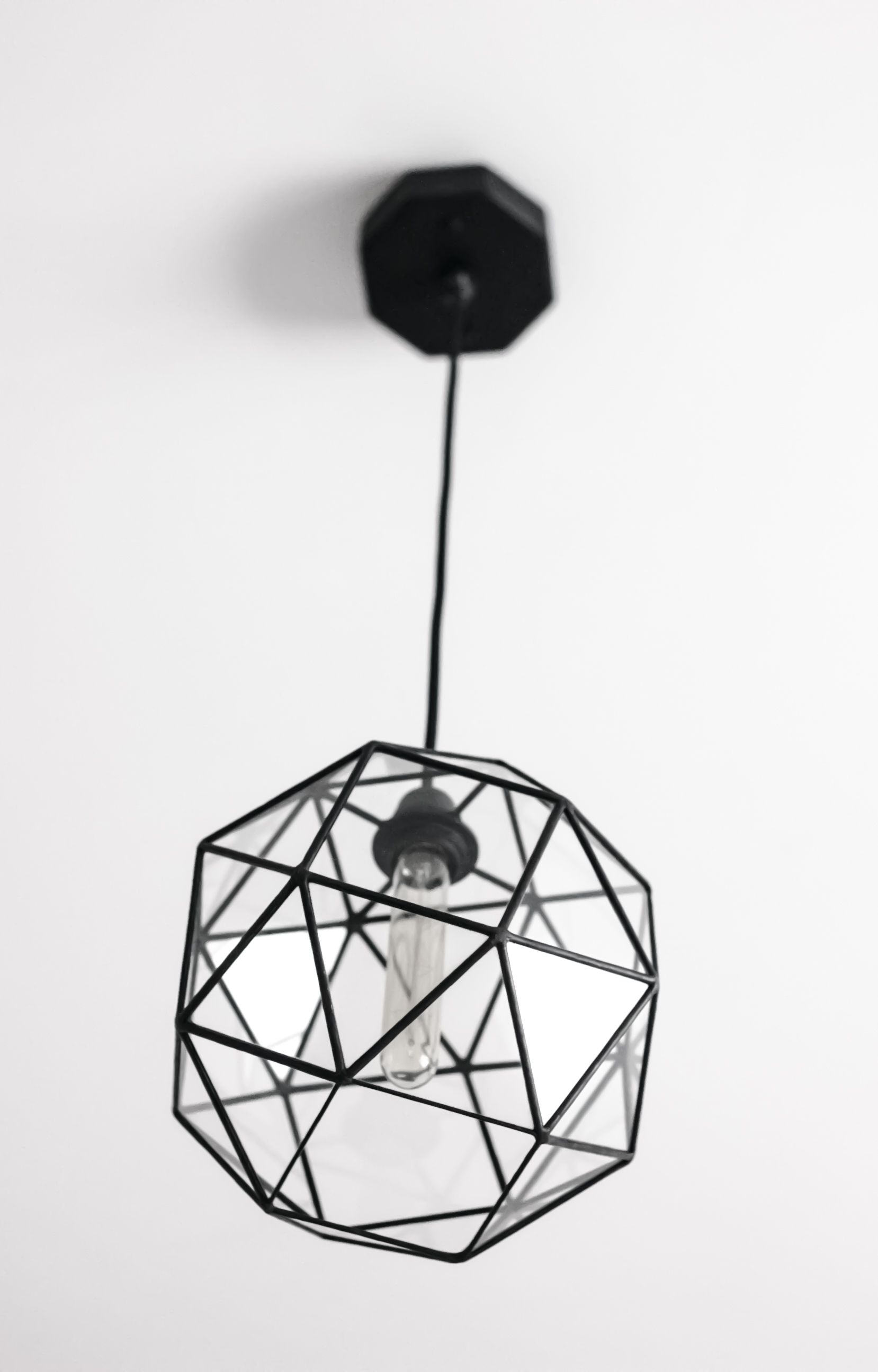 Keppler Snub Cube Large Chandelier / Geometric Glass Pendant Light ...