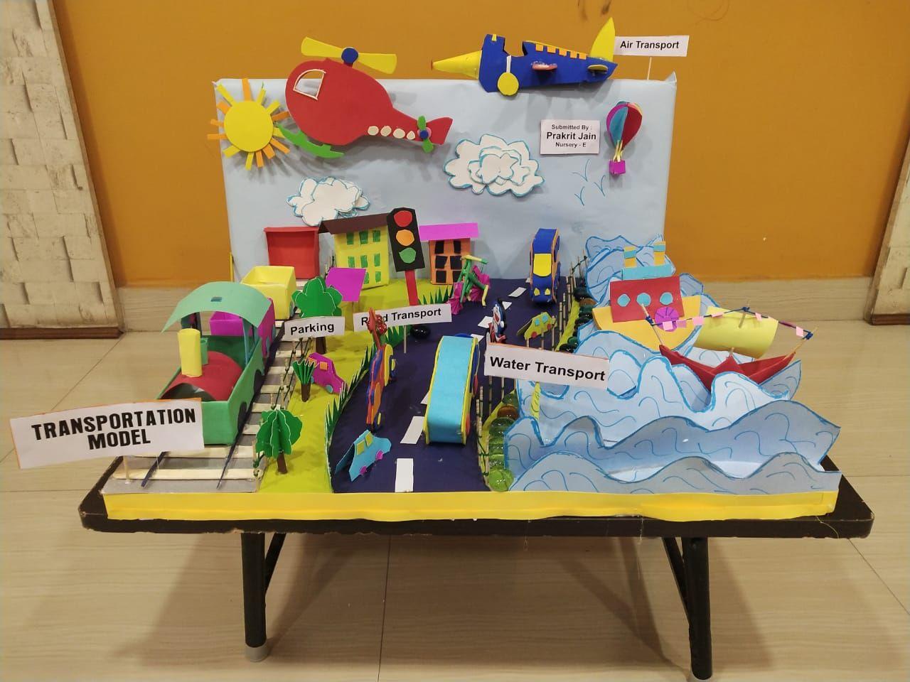 Transportation Model For Schools Craft