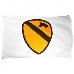 1st Cavalry Flag 3ft X 5ft Printed Polyester Military Flag Cavalry Prints