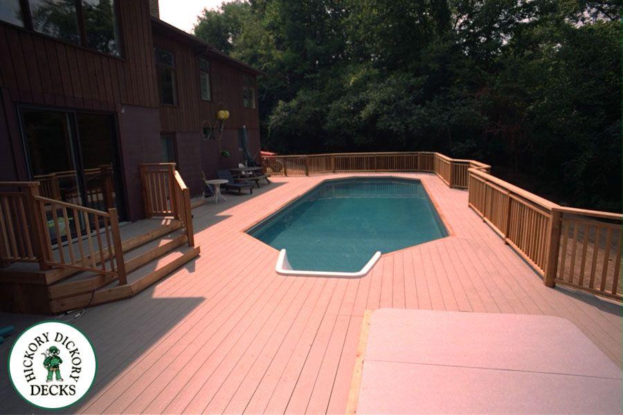 Decks With Pools Deck Ideas Deck H102993 Pool Decks Deck Pool