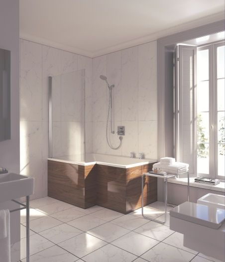 duravit seadream shower and bathtub combo the dream combination shower and bath in one - Bathroom Tub And Shower Designs