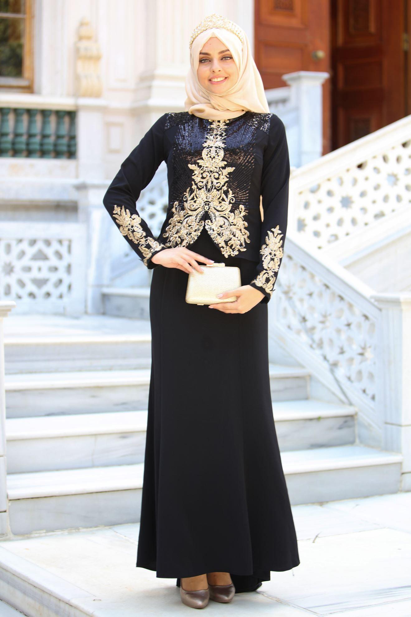 Sedanur Tesettur Ceketli Abiye Elbise Modelleri Moda Tesettur Giyim Elbise Modelleri Elbise Moda Stilleri