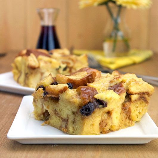 Easy French Toast Casserole Using Cinnamon Raisin Bread