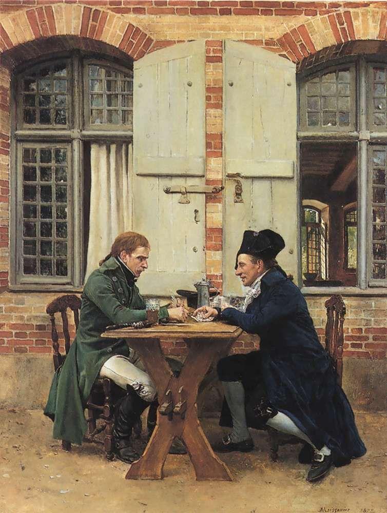 The Card Players - Ernest Meissonier - Jean-Louis-Ernest Meissonier - Wikipedia, the free encyclopedia