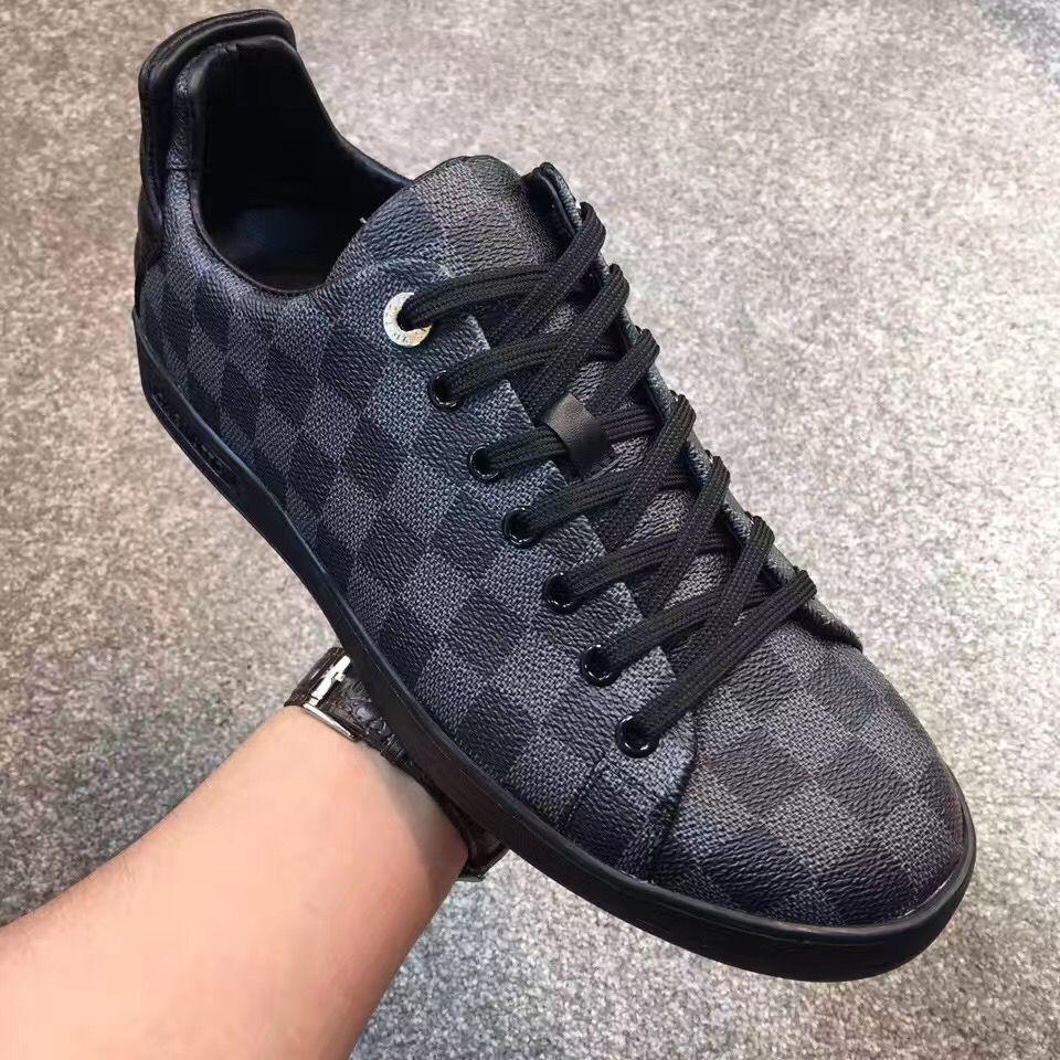 Lv Frontrow Mens Shoes Louis Vuitton Mens Sneakers Louis
