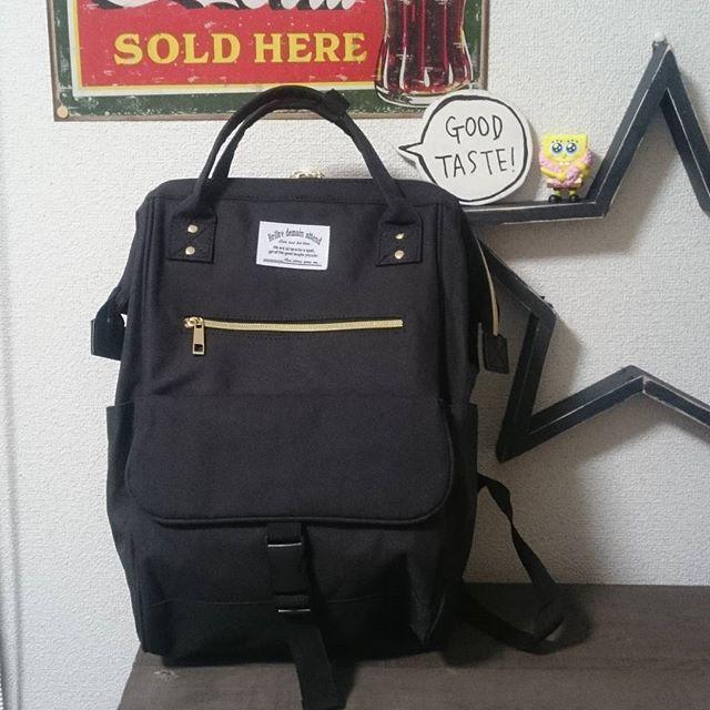 9c2c097eea6f マザーズバッグに超おすすめ♡しまむらのanello風リュックが再販してる ...
