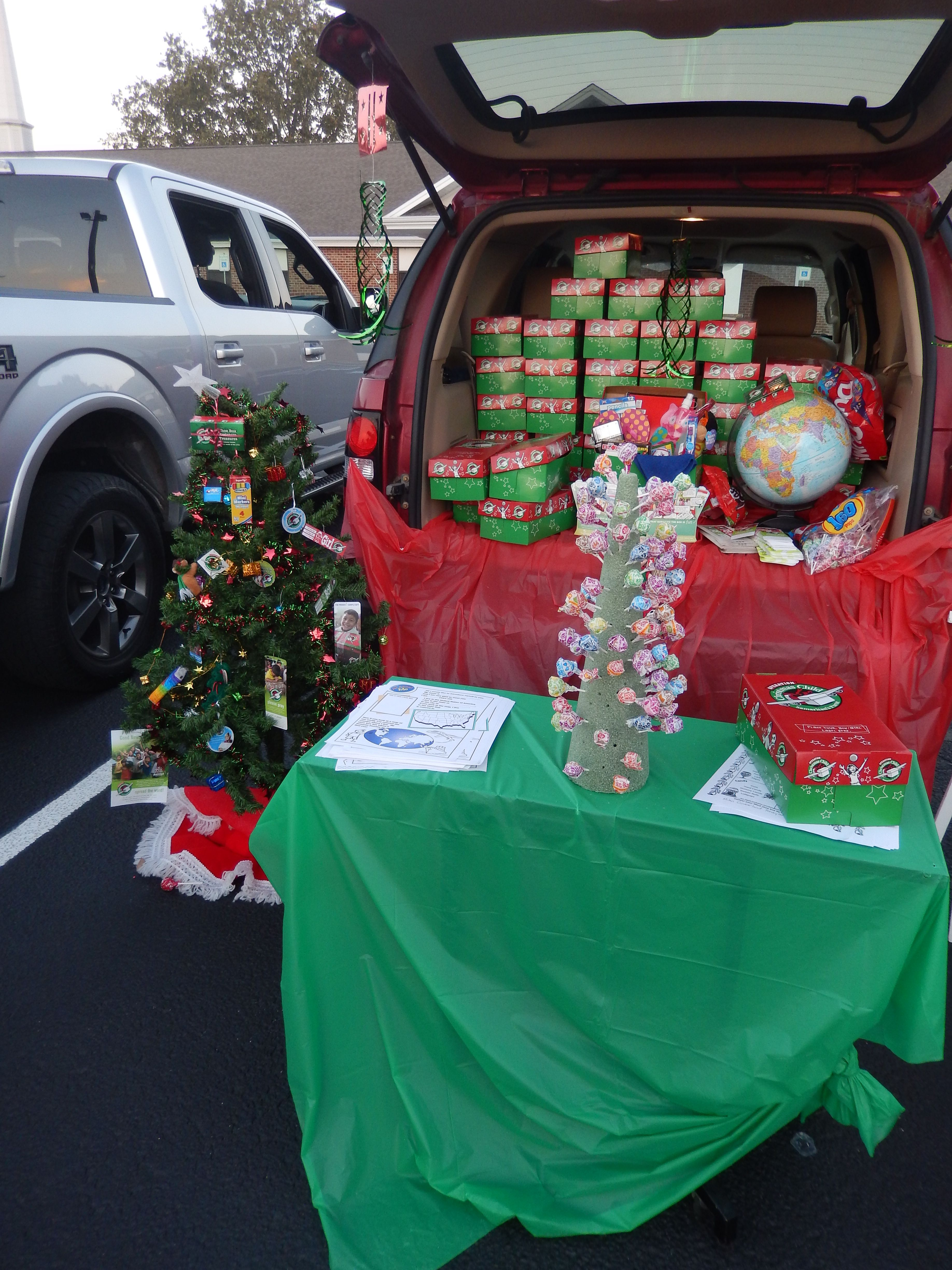 Christmas Operation Game.Operation Christmas Child Trunk Or Treat Idea We Had A Pick