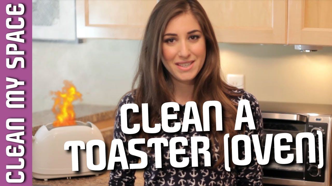 Toaster Oven Cleaning Hacks