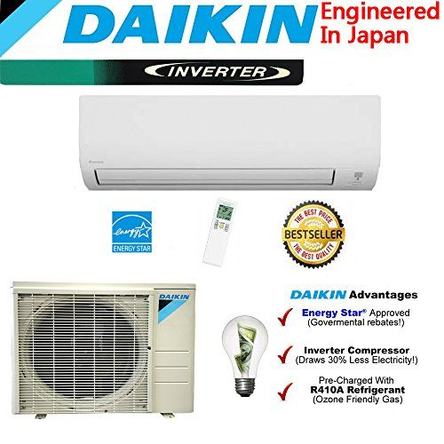 New Japanese Daikin 24000 BTU High Efficient Saving Mini