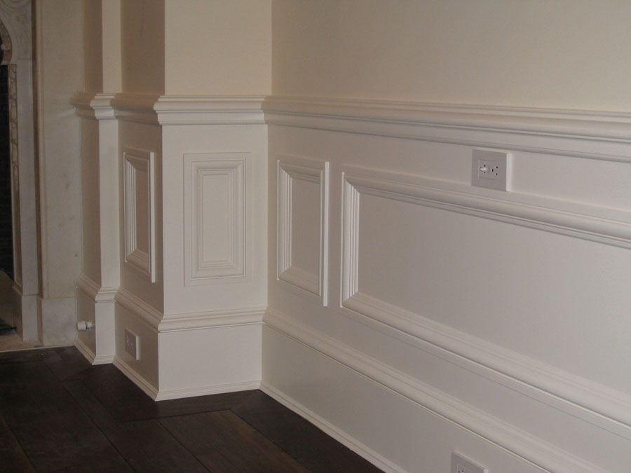 Wainscoting styles wainscot paneling is one of the most for Decorative wall trim ideas