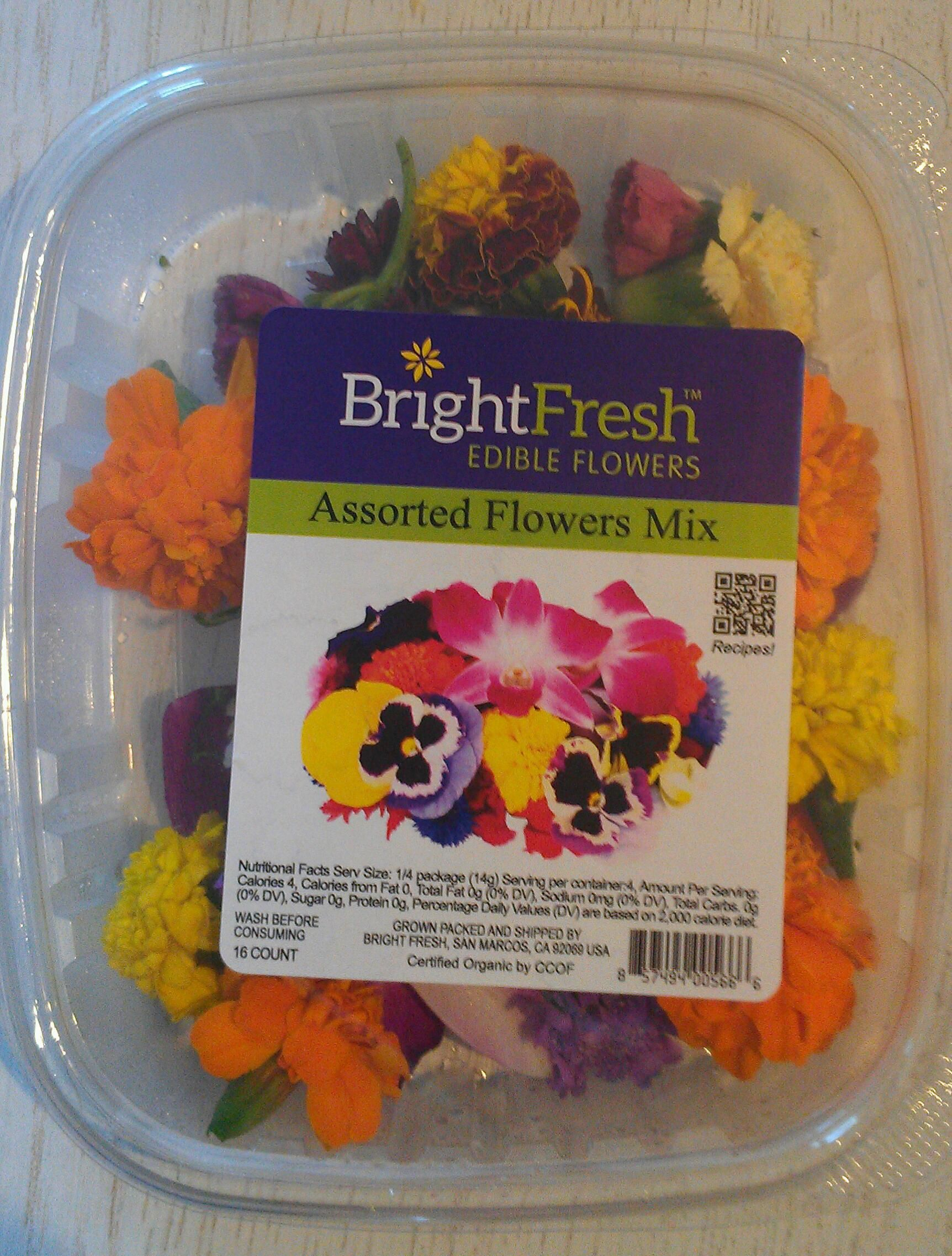 Packaged Edible Flowers May Soon Be in a Store Near You