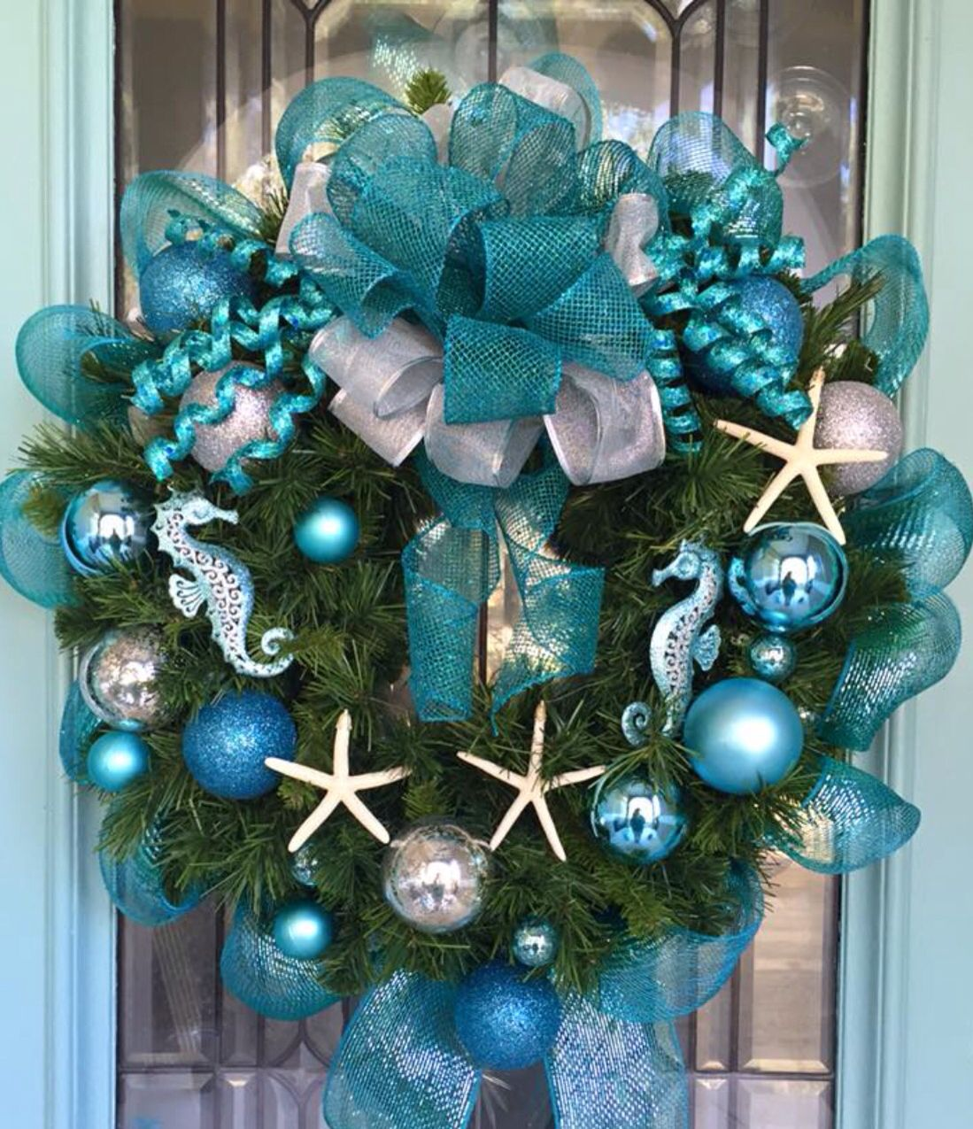 Nautical Christmas Wreath.Pin On Beach