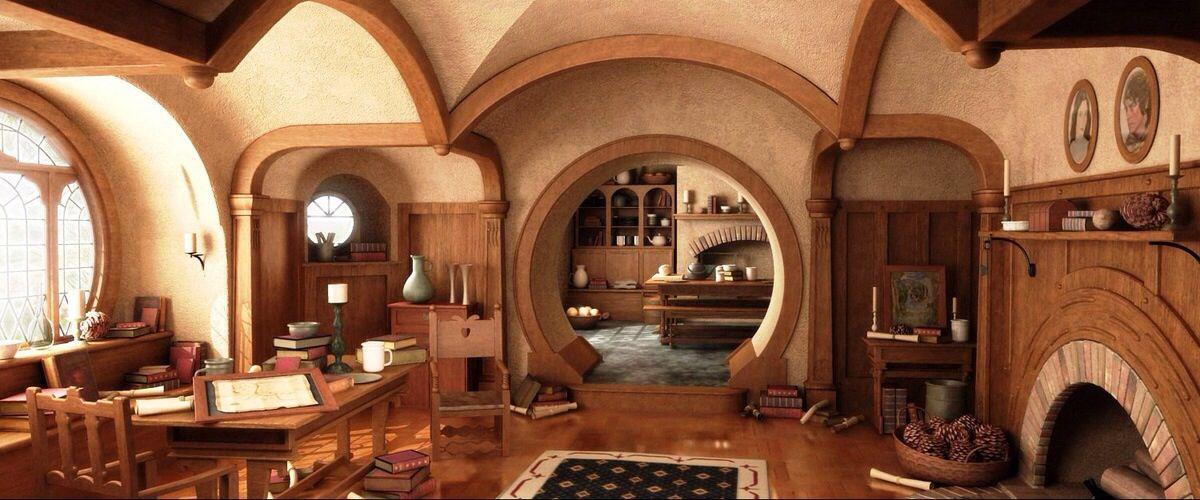Bilbo Baggins House Plans Bilbo Baggins House Plans of