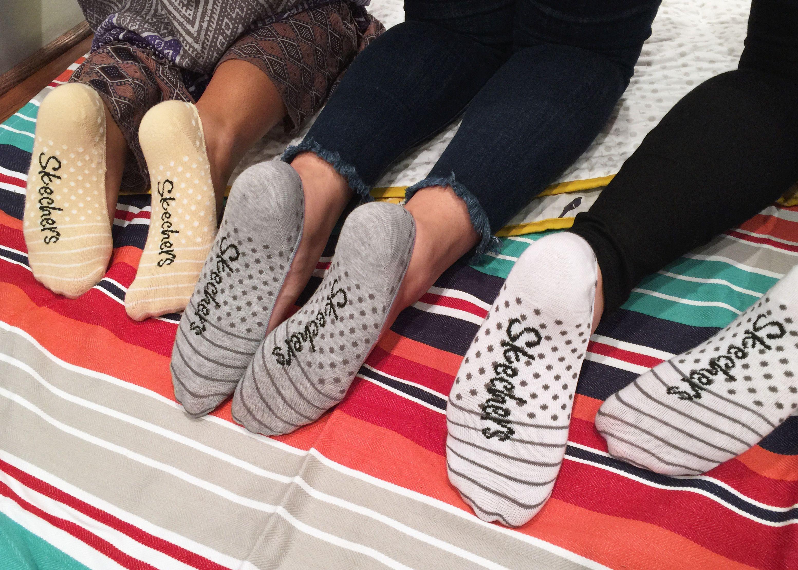 cozy Skechers socks