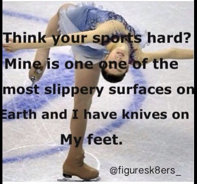 ice skating quotes funny