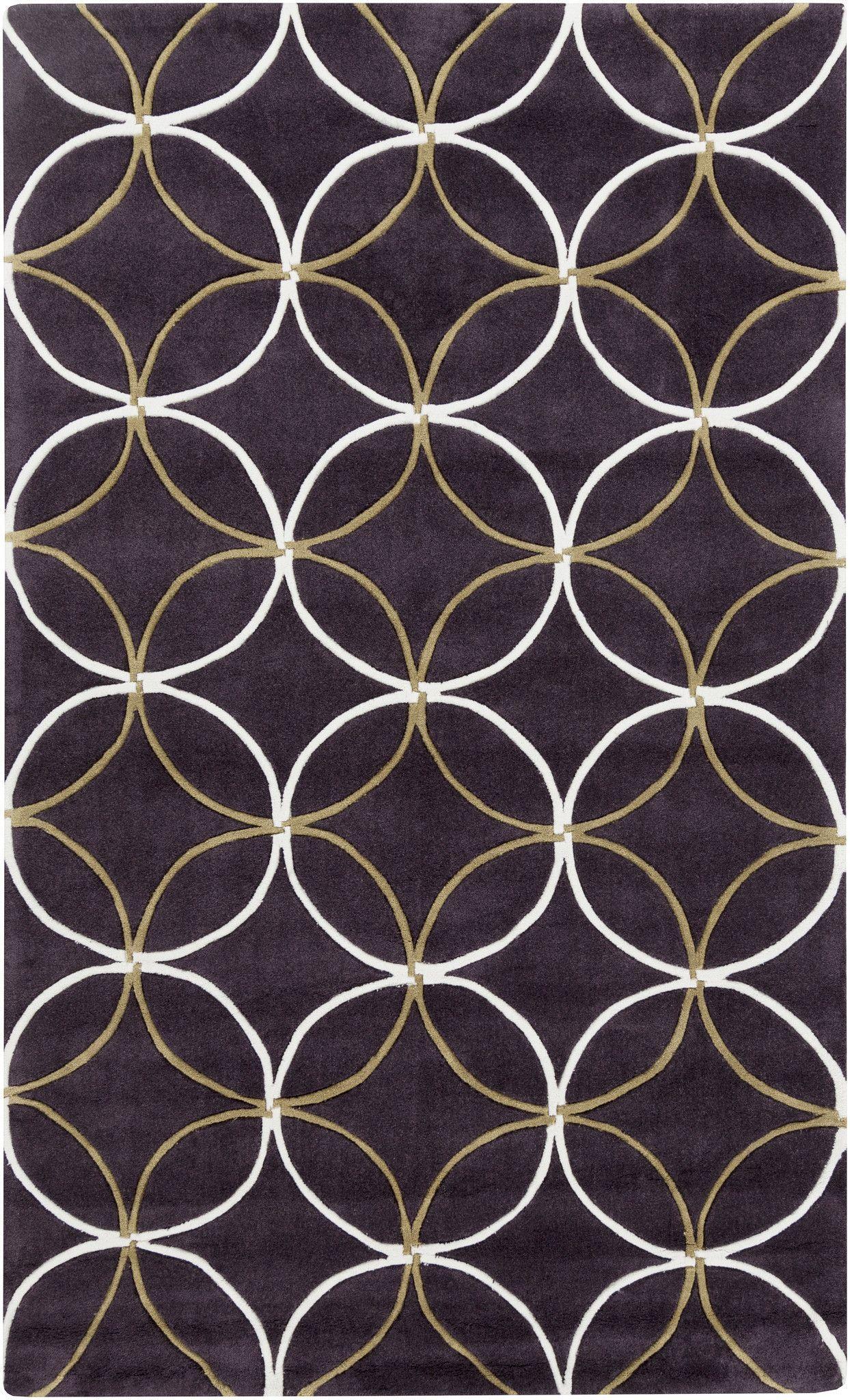 Surya COS9191 Cosmopolitan Purple Rectangle Area Rug