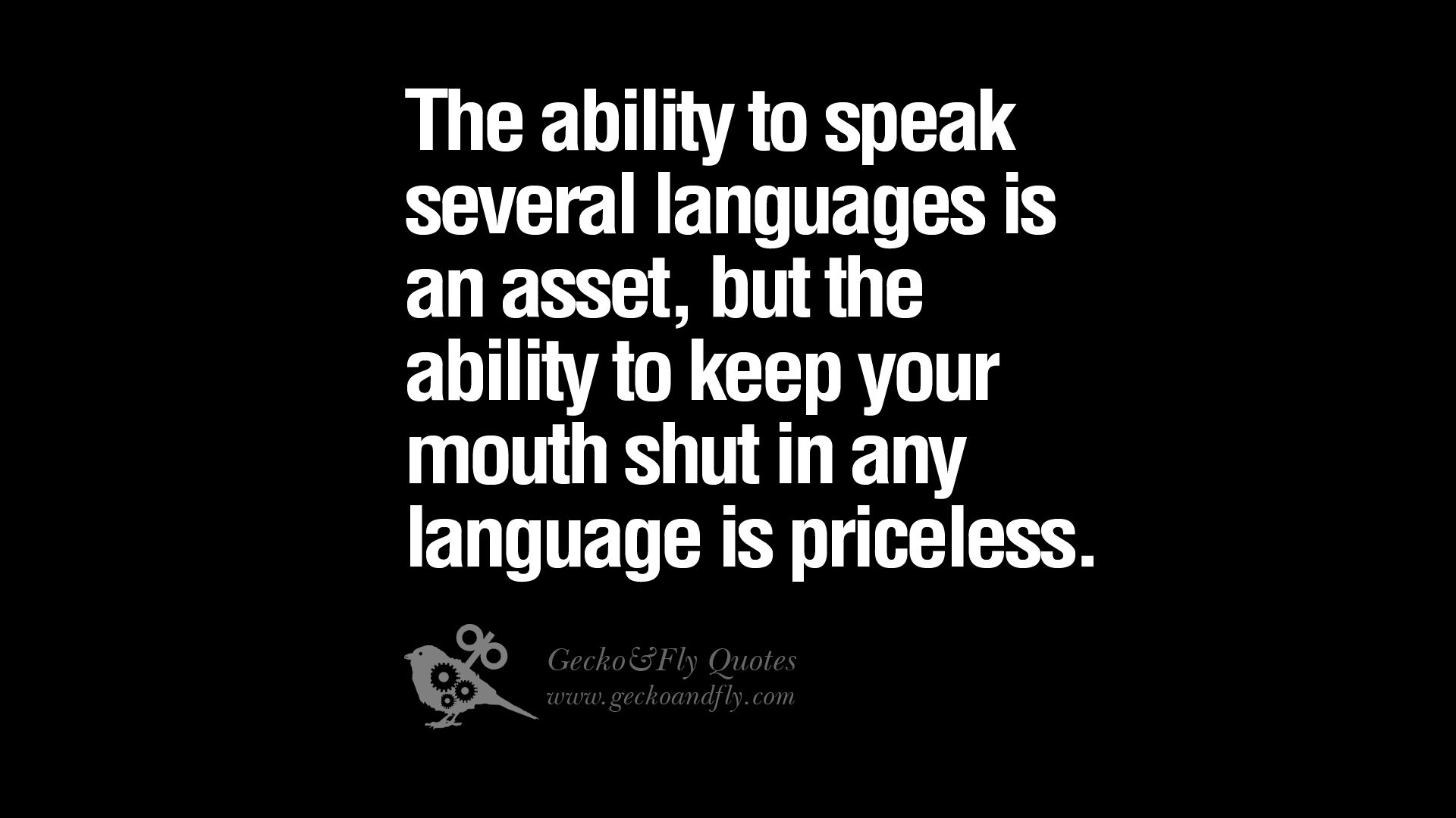 Quote About Keeping Your Mouth Shut Google Search Quotes 2