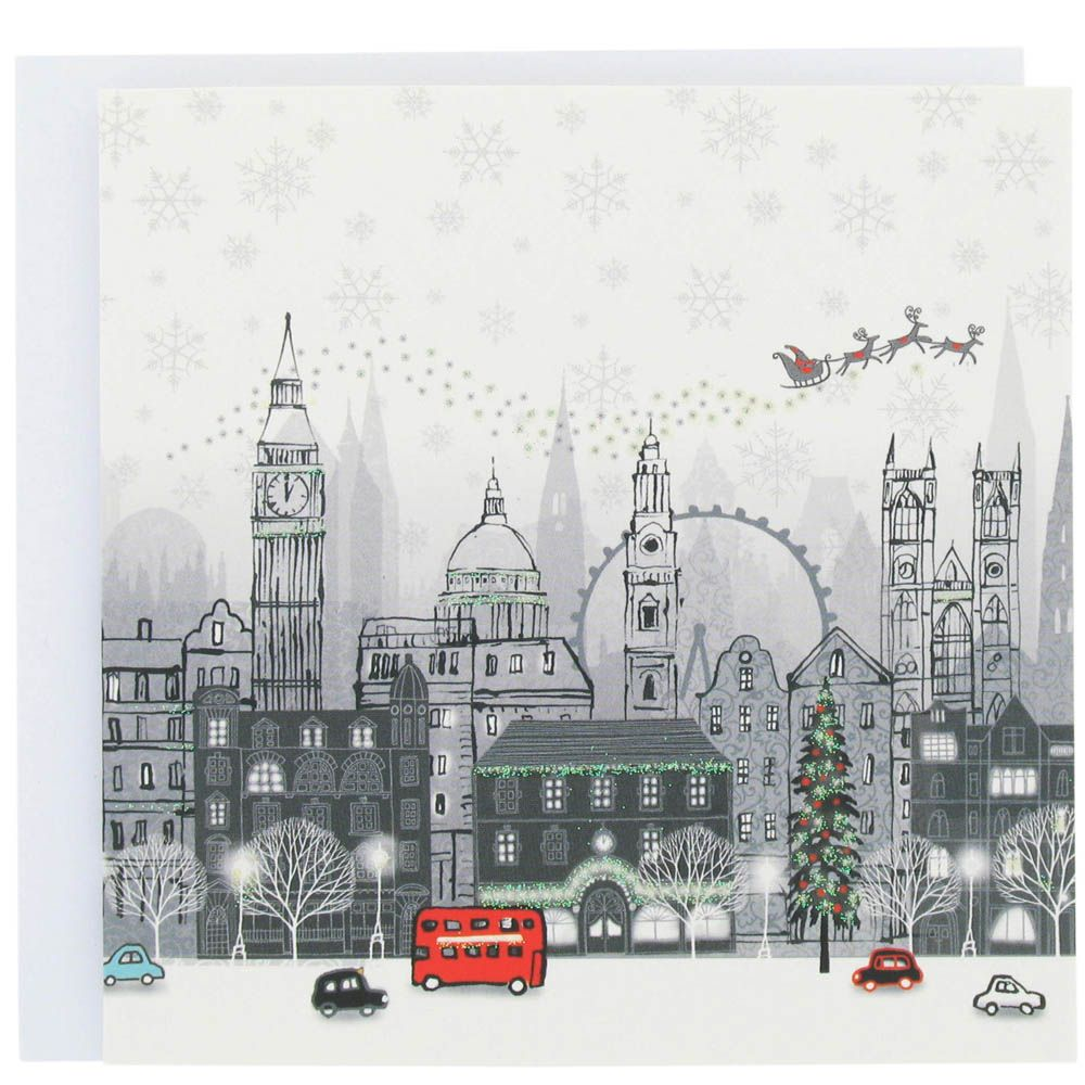London Christmas card from Paperchase. Love London. Love