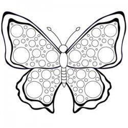 A collection of free printable butterfly coloring pages, coloring ...