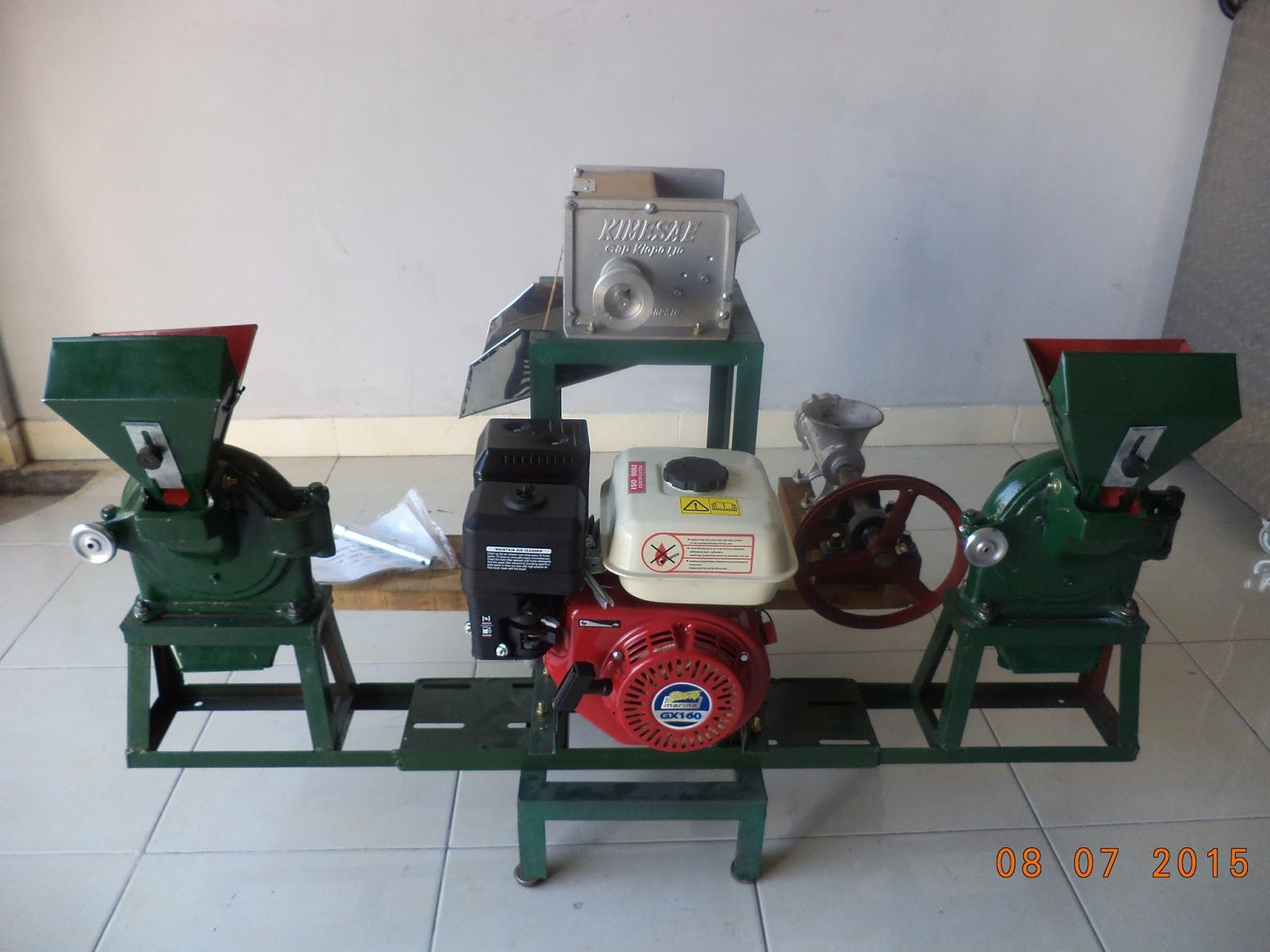 Mesin Penepung Serbaguna Adalah Yang Digunakan Untuk Menepung Mixer Adonan Baglog Aneka Komoditi Seperti Bumbu