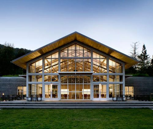 Branson School Student Commons by Turnbull Griffin Haesloop Architects