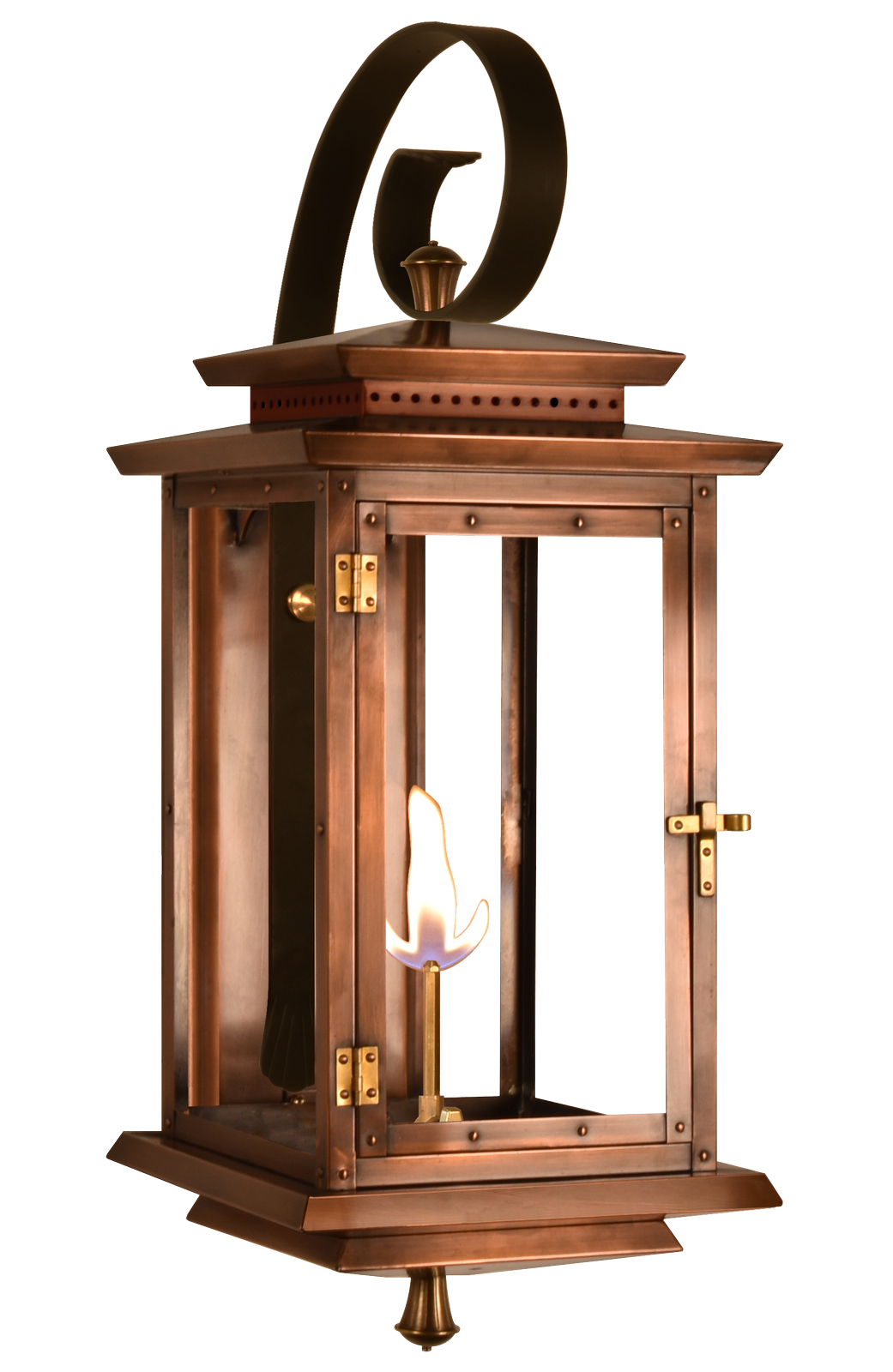 Biltmore Traveler Gas Or Electric Copper Lantern In 2019