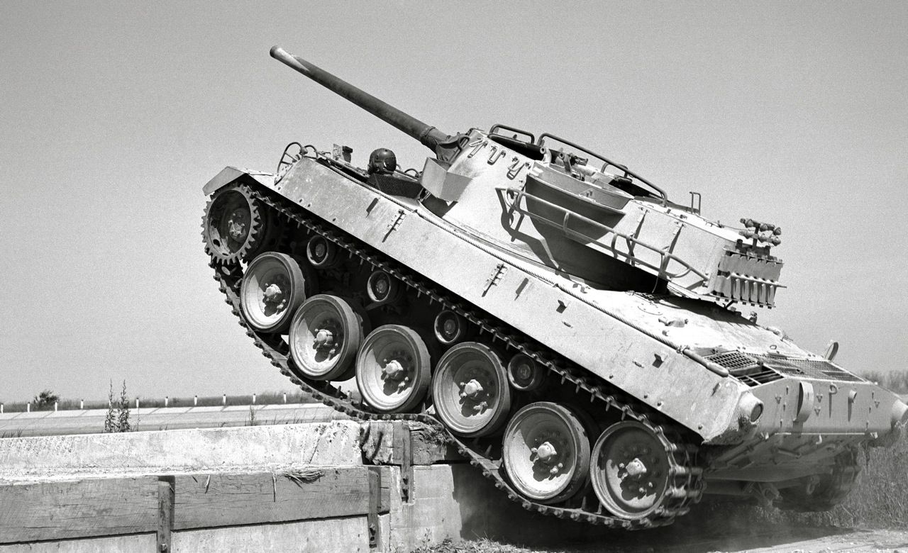 the m18 hellcat was an american tank destroyer of world