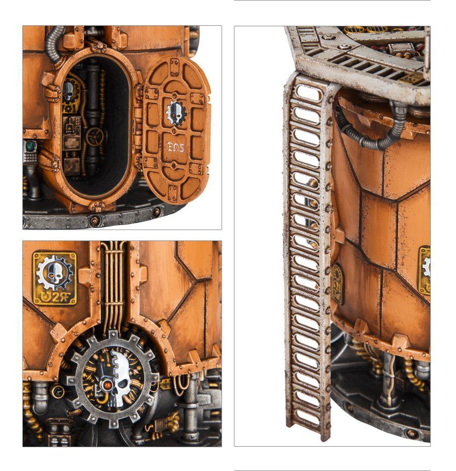 Sector Mechanicus Ferratonic Furnace Games