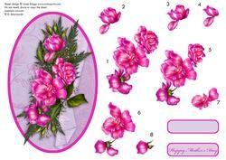 Cameo Roses Decoupage