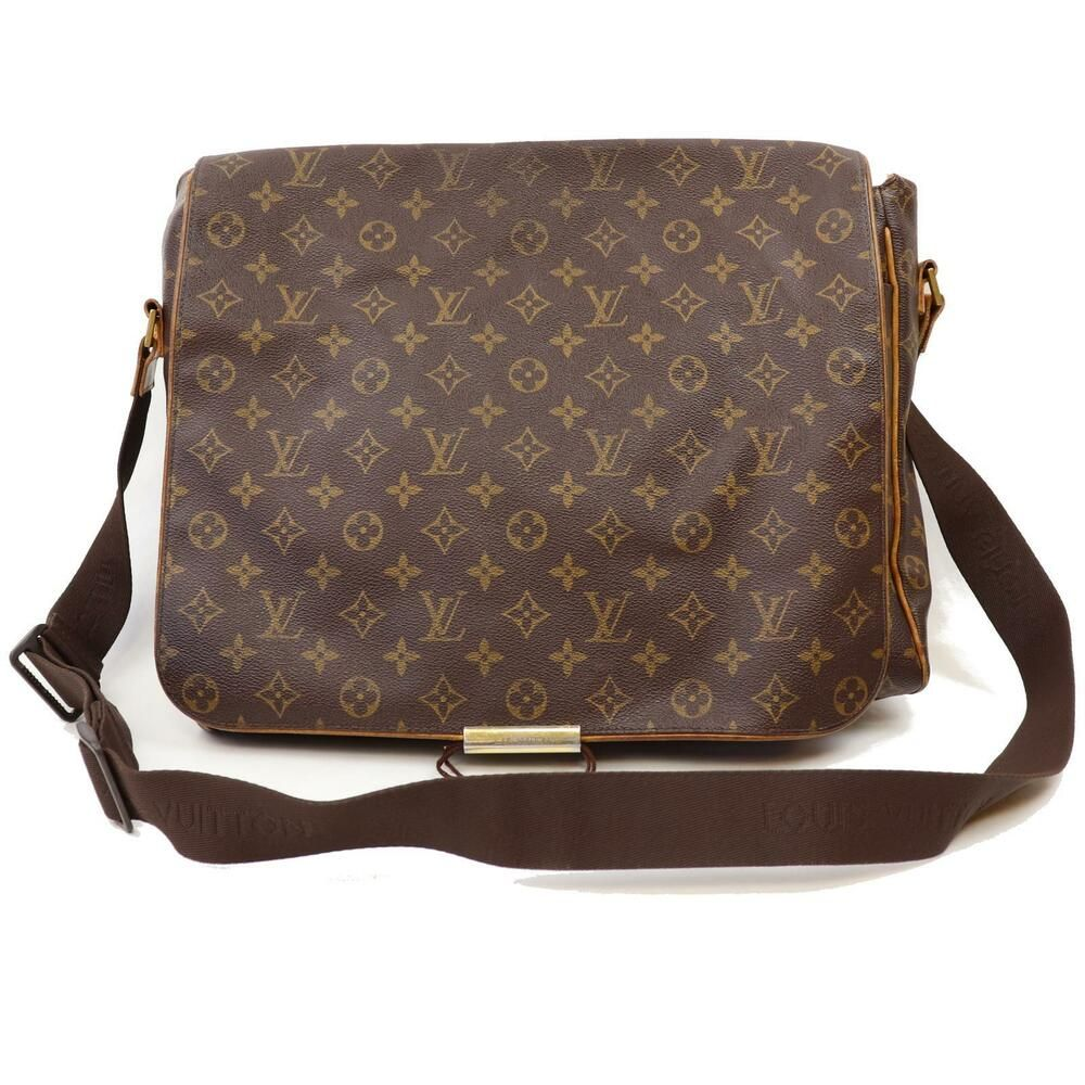 a45e4be65923 Authentic Louis Vuitton Shoulder Bag Abbess M45257 Brown Monogram 184523   fashion  clothing  shoes  accessories  womensbagshandbags (ebay link)