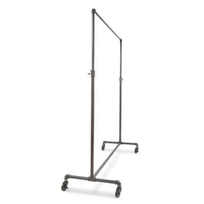Econoco Pipeline 60 In W X 72 In H Adjustable Height Gray