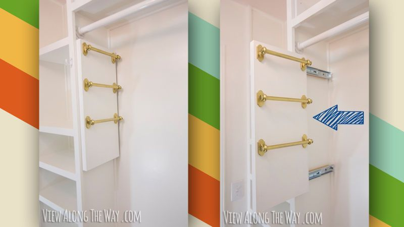 These Diy Belt And Scarf Organizers Save E In Small Closets