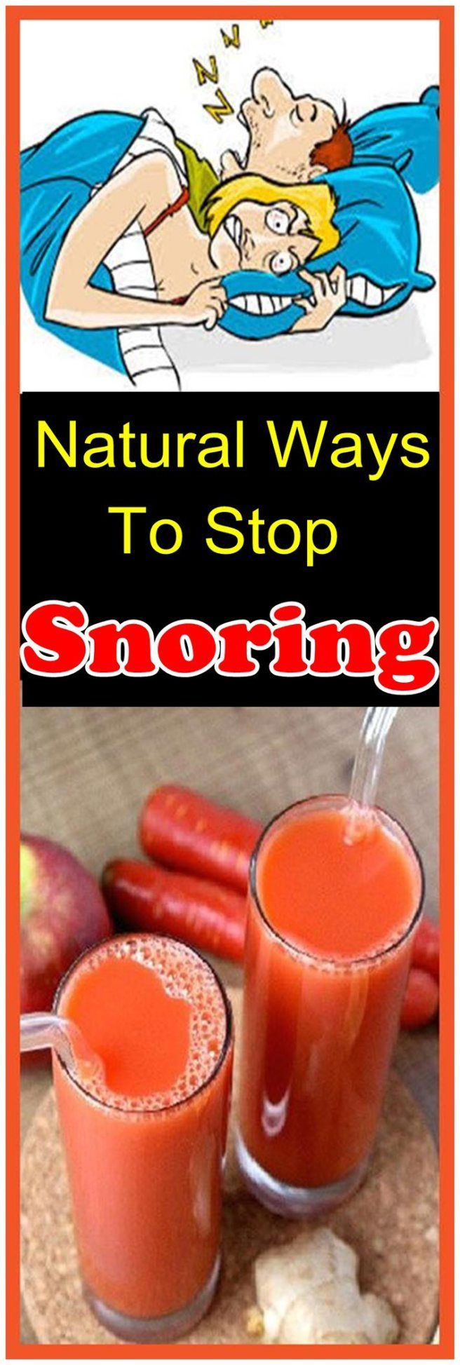My Husband Stopped Snoring When A Friend Of Mine Gave Me ...