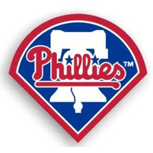 Philadelphia Phillies MLB 12 Car Magnet