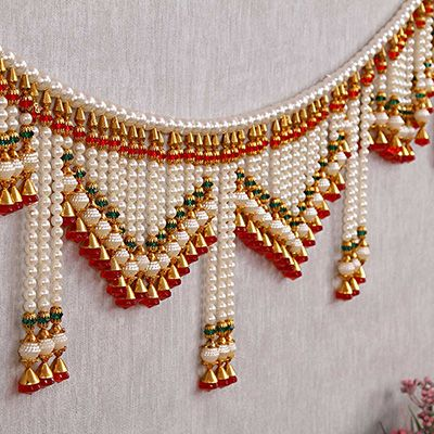 620ad1fe2 Buy Traditional Handmade Pearl Door Hanging Toran online at best price from  IGP. Gift
