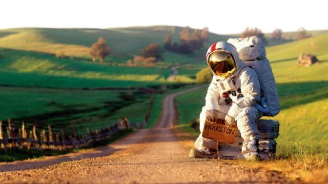 It's hard to dream of going to other planets when its so difficult to just get across town