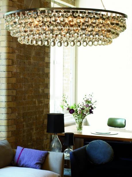 arctic pear chandelier round | OCHRE Ochre