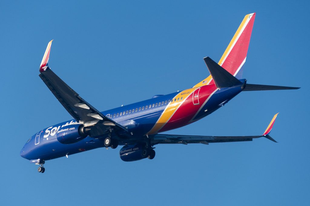 Southwest Airlines 737 8h4 On Final Approach To San 2019 11 16 Southwest Airlines Southwest Airlines