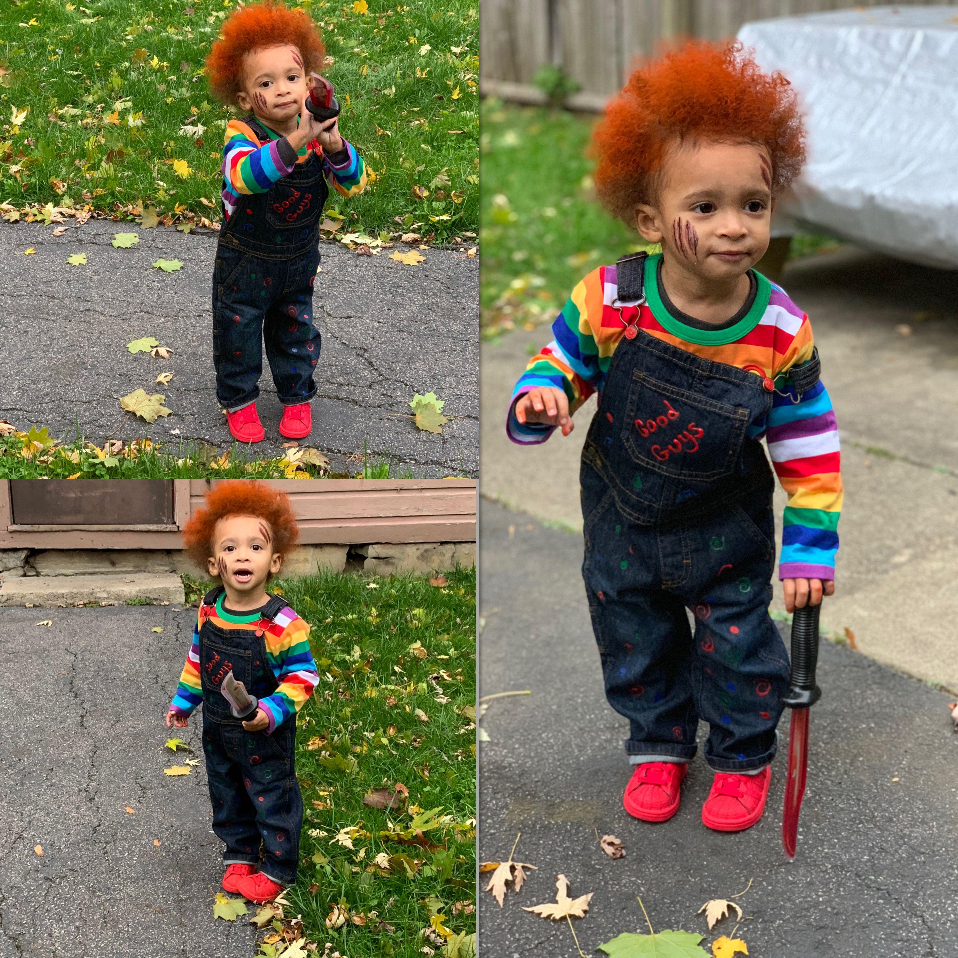 Chucky costume for kids DIY halloween chucky costumes