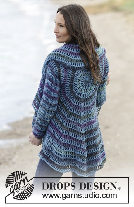DROPS 165-40 by DROPS Design | Crocheting | Pinterest | Drops design ...