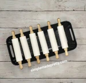 DIY Mini Rolling Pins - Simple Made Pretty (2020)