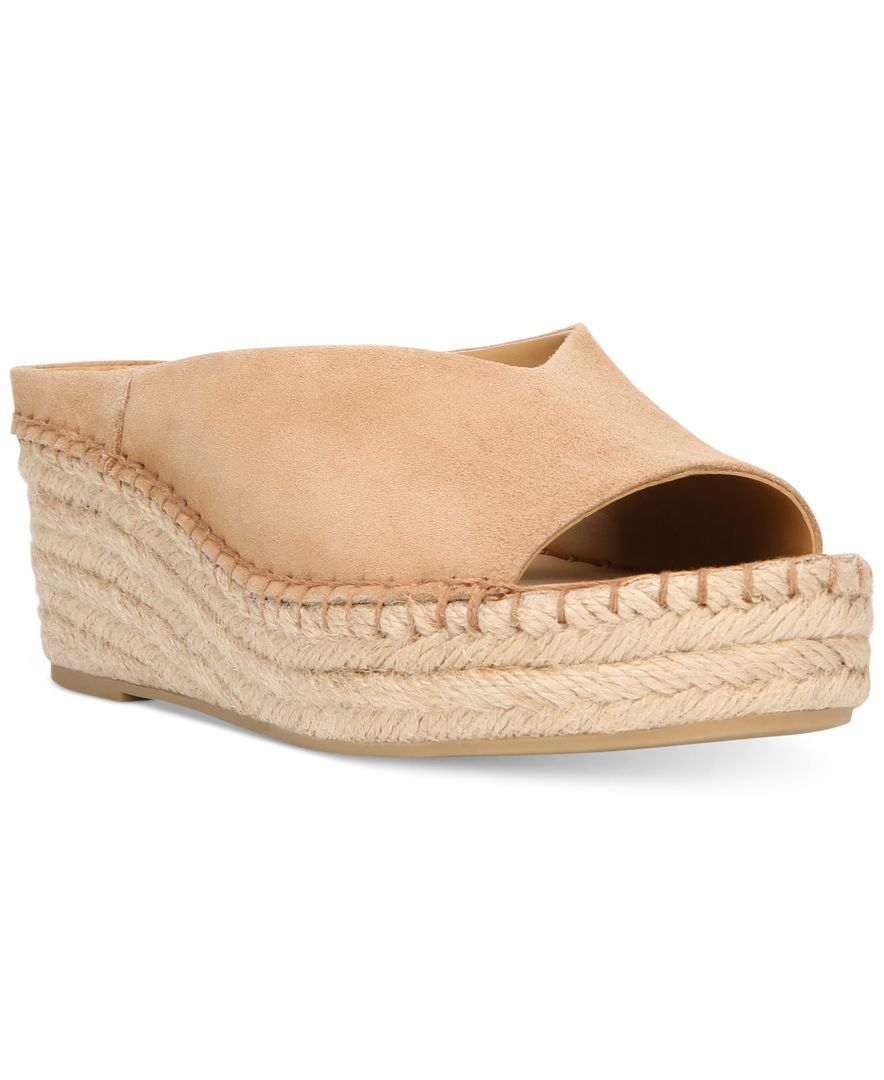 51c16418dc8 Franco Sarto Pine Slip-On Espadrille Wedge Mules | Products | Wedge ...