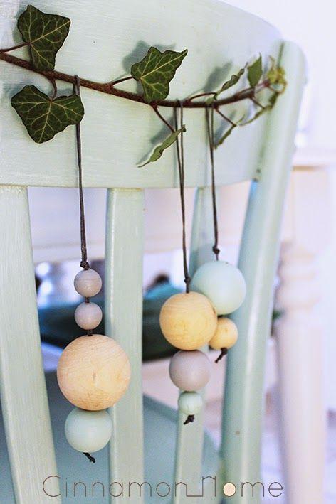 Eine kleine Deko-Idee (Cinnamon Home)  Bloomingville Weihnachtsornamente