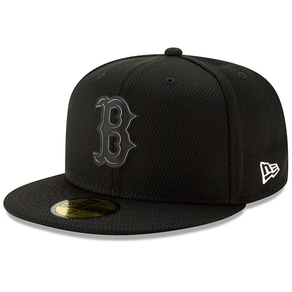 Men S New Era Black Boston Red Sox Clubhouse Collection 59fifty